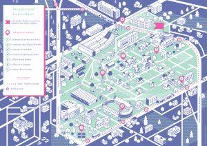 Plan réalisé en 2018 pour Effervescences à Clermont Ferrand